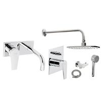 Набор смесителей для ванны и душа Genebre 03Klip (03Klip-inside plus)