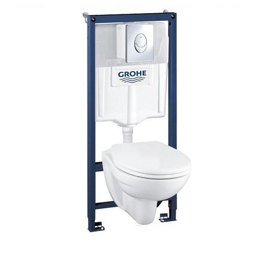 Комплект Grohe Solido Perfect: унитаз + инсталляция (39192000)