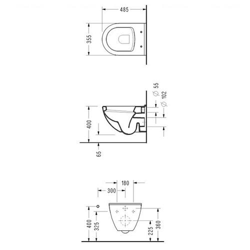 Комплект Grohe Solido Perfect: унитаз + инсталляция (39186000)