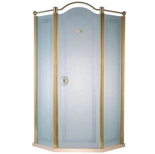 Душевая дверь Devit Charlestone золото FEN2031MR