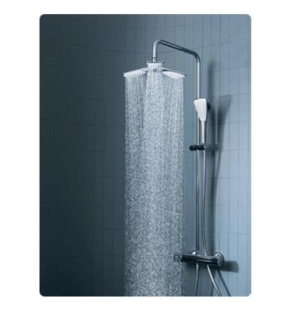 Душевой гарнитур Kludi Dual Shower System 6709305-00