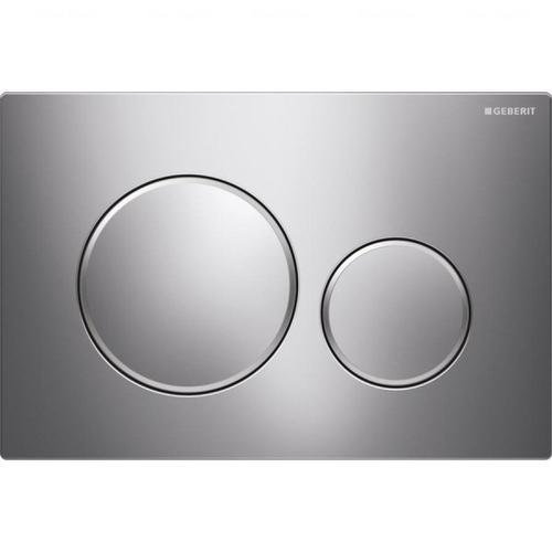 Кнопка смыва Geberit Sigma 20, нержавеющая сталь