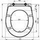 Сиденье для унитаза Alca plast A601