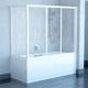 Душевая стенка для ванны Ravak APSV 70 профиль белый + стекло Rain профиль белый + стекло Rain