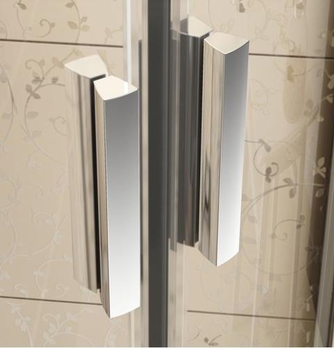 Душевые двери Ravak Blix BLDP4-180 профиль белый + витраж Transparent профиль белый + витраж Transparent