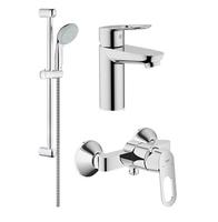 Набор смесителей для ванны и душа Grohe BauLoop 118111
