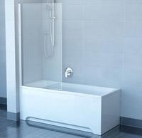 Штора для ванны Ravak CVS1, профиль белый