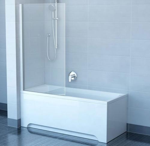 Штора для ванны Ravak CVS1, профиль белый левая левая