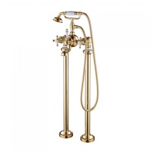 Смеситель для ванны и душа Devit Charlestone золото AC004201G