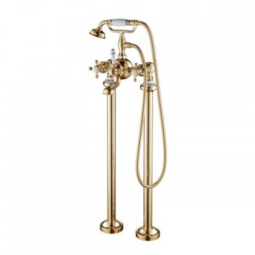 Смеситель для ванны и душа Devit Charlestone бронза AC004201B