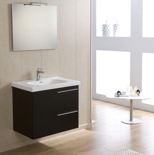 Зеркало Devit Optima, белый 700 мм