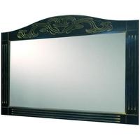 Зеркало Devit Sheffield, черный 1300 мм