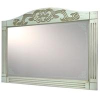 Зеркало Devit Sheffield, белый 800 мм