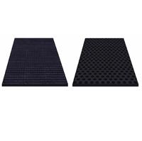 Резиновый мат Eco Farm, цвет черный