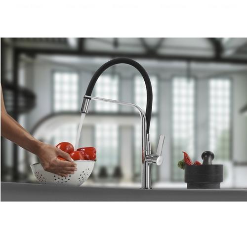 Смеситель для кухни Teka FO 997, черный (62997020FN)