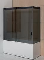 Душевaя стенкa для прямоугольной ванны Balteco, 170х155 см
