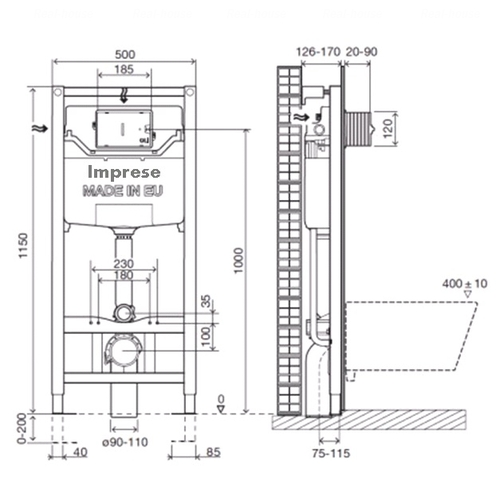 Инсталляция Imprese 3в1 (i8120)
