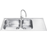 Кухонная мойка Smeg Alba LG116
