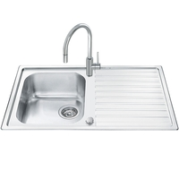 Кухонная мойка Smeg Alba LLR861