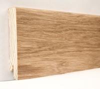 Плинтус деревянный шпонированный Ключук Модерн