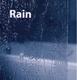 Штора для ванны Ravak VS2 105, профиль белый витраж Rain витраж Rain