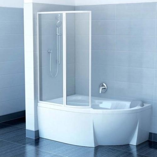 Штора для ванны Ravak Rosa VSK2, L/R Rain 1700мм левосторонняя левосторонняя