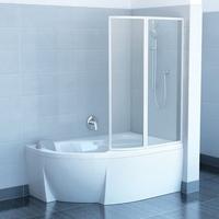 Штора для ванны Ravak Rosa VSK2, L/R Transparent 1700мм