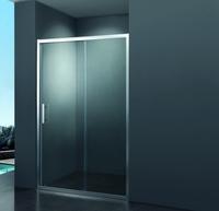 Душевая дверь раздвижная Primera Frame SDP1010, хром/шиншила