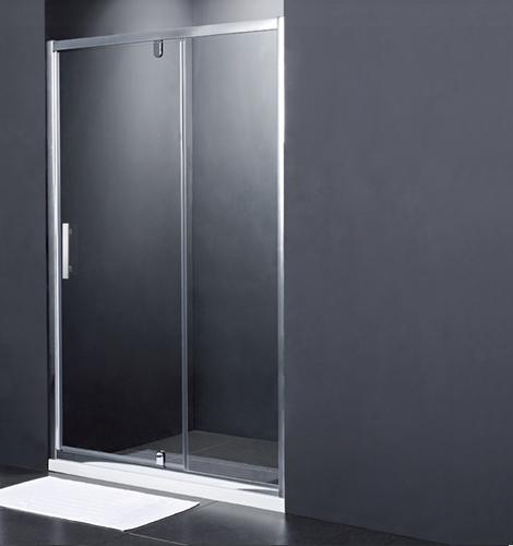 Душевая дверь распашная Primera Frame SDP1212, хром/шиншила