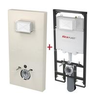 Система инсталляции Alca plast Slim Modul M1206 (бежевая)