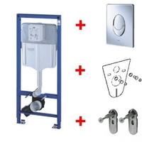 Инсталляционная система для унитаза Grohe Rapid SL+кнопка Skate Air