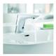 Электронный смеситель для раковины Kludi Balance 5210005