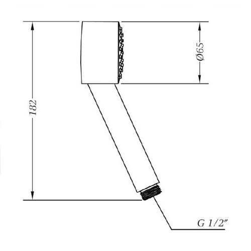 Душевой набор Genebre 02Klip-showerset (02Klip)
