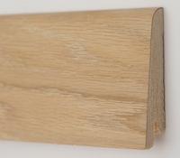Плинтус деревянный шпонированный Ключук Рустик 60