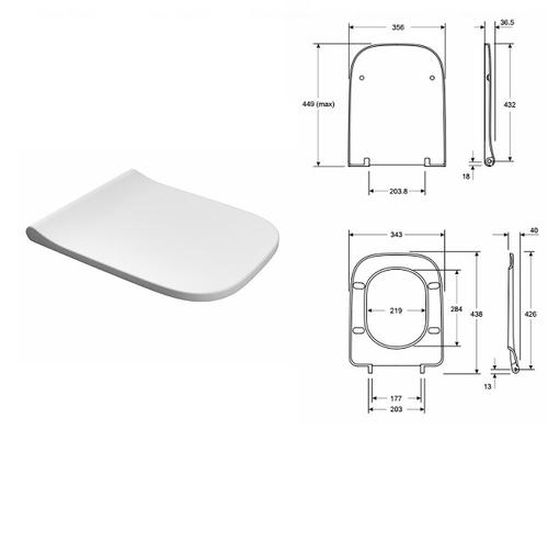 Комплект: унитаз Kolo Modo Rimfree + инсталляция Geberit Duofix (111.300+111.815+L3312+L30112)