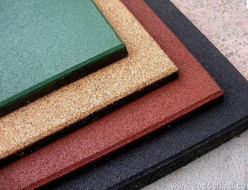 Плитка резиновая Eco Standard 500х500х20 500х500х20