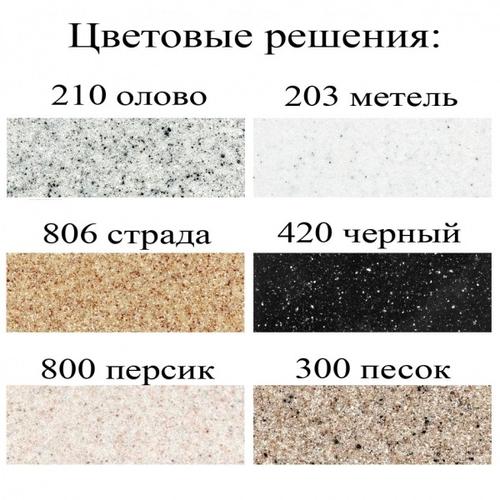 Кухонная мойка Fosto 58x50 метель метель