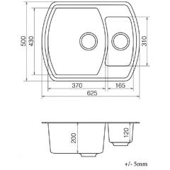 Кухонная мойка Vankor Norton NMP 01.48