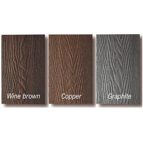 Террасная доска Bauwood Lite 2200х146х23 мм Dark Brown Dark Brown