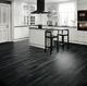 Виниловая плитка LG Decotile Сосна окрашенная черная DSW 2367