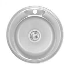 Кухонная мойка Lidz 490-A 0.6 мм (160)