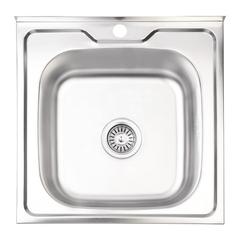Кухонная мойка Lidz 5050 0.6 мм (160)