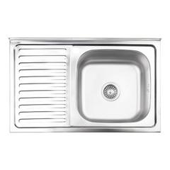 Кухонная мойка Lidz 5080 0.8 мм (180)