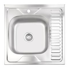 Кухонная мойка Lidz 6060 0.6 мм (160)