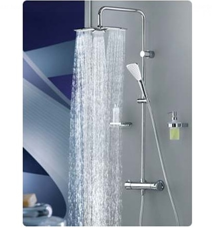 Душевая система Kludi Fizz Dual Shower System 6709505-00