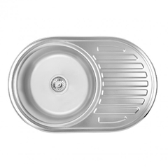 Кухонная мойка Lidz 7750 0.6 мм (160)