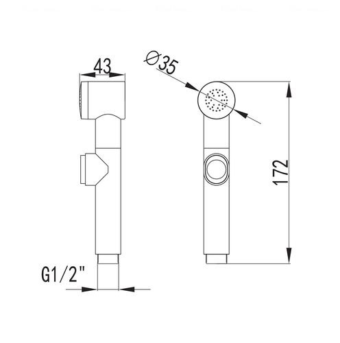 Гигиенический душ Imprese B7001