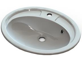 Умывальник Буль-Буль Fancy Marble Bianca Bowl 54 (2105101)