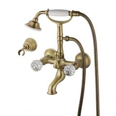 Смеситель для ванны и душа Devit Charlestone бронза CN60012102B