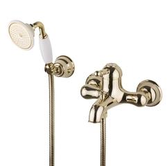Смеситель для ванны и душа Devit Charlestone золото CN60012137G